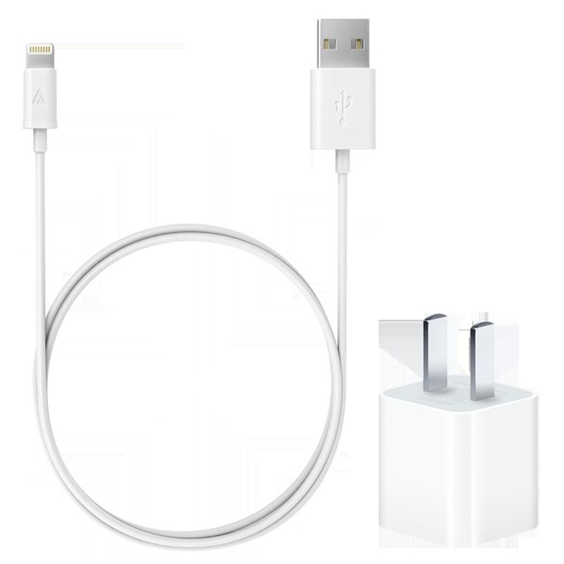 [レンタル]USBケーブル(Apple)&充電器