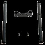 デュアル 15mm ロッドサポート