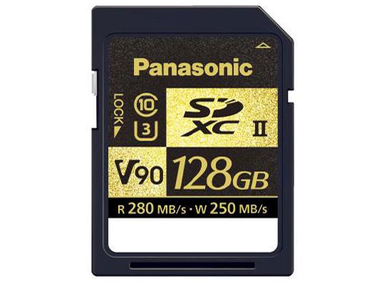 SDXC UHS-II メモリーカード(128GB)