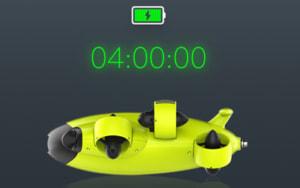 [ドローンレンタルネット]FIFISH V6 水中ドローン 長時間稼働可能