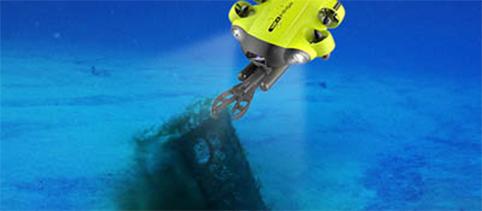 [ドローンレンタルネット]FIFISH V6s 水中ドローン ロボットアーム